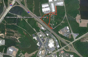 For Sale 17.6 Acres Commercial Land Morrisville, North Carolina